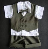 Letní oblek pro miminko, 6 měsíců - 3 roky - půjčo, 98