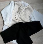 Ivory, krémový svatební oblek 12-18 měsíců půjčovn, 86