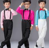 Oblek růžový, modrý, 2-10 let, půjčovné, 92