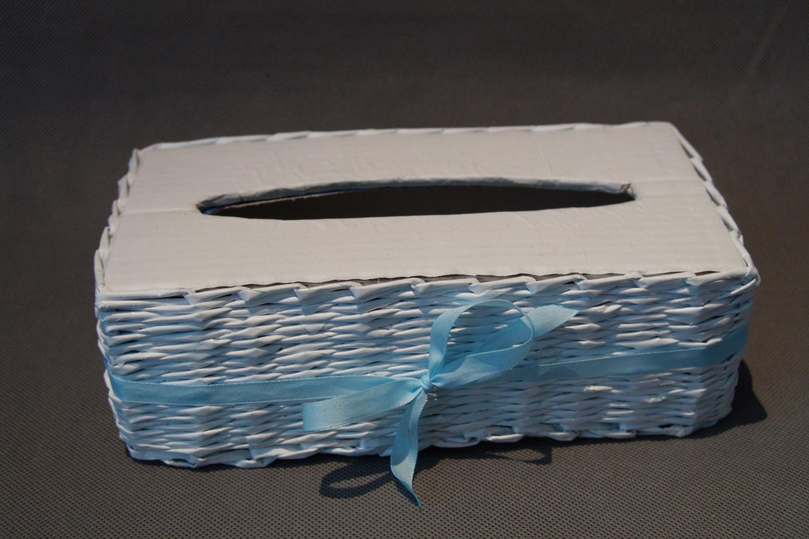 Pokladnička, krabička na ubrousky - Obrázek č. 1