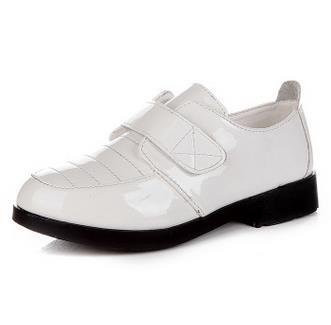 Bílé dětské svatební boty, 26-36 - Obrázek č. 1