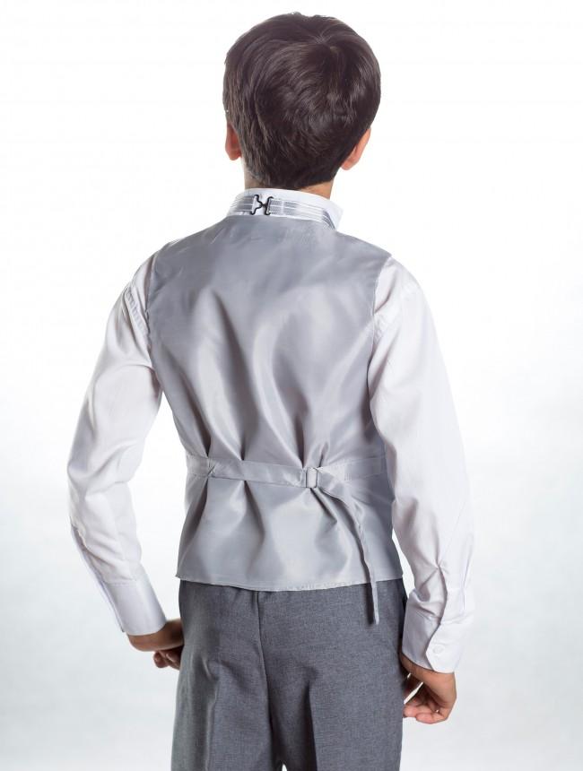 Svatební oblek, stříbrná, šedá, půjčovné, všechny - Obrázek č. 3