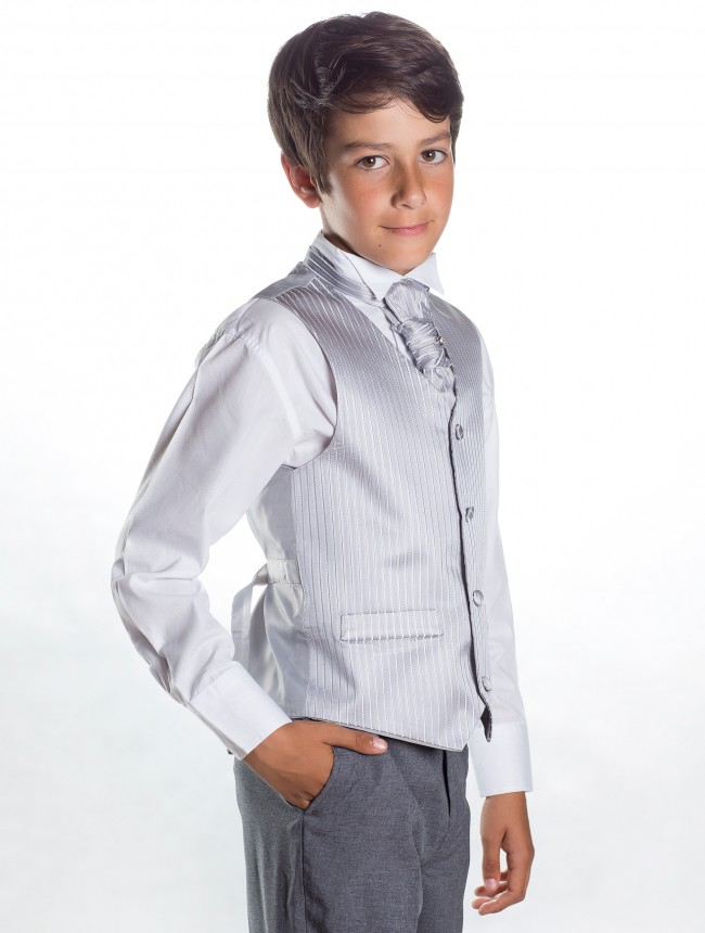 Svatební oblek, stříbrná, šedá, půjčovné, všechny - Obrázek č. 2