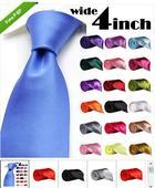 Svatební pánská kravata, různé barvy,