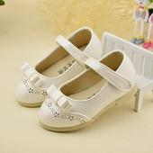 Bílé svatební boty pro malé družičky, 21-30, 21