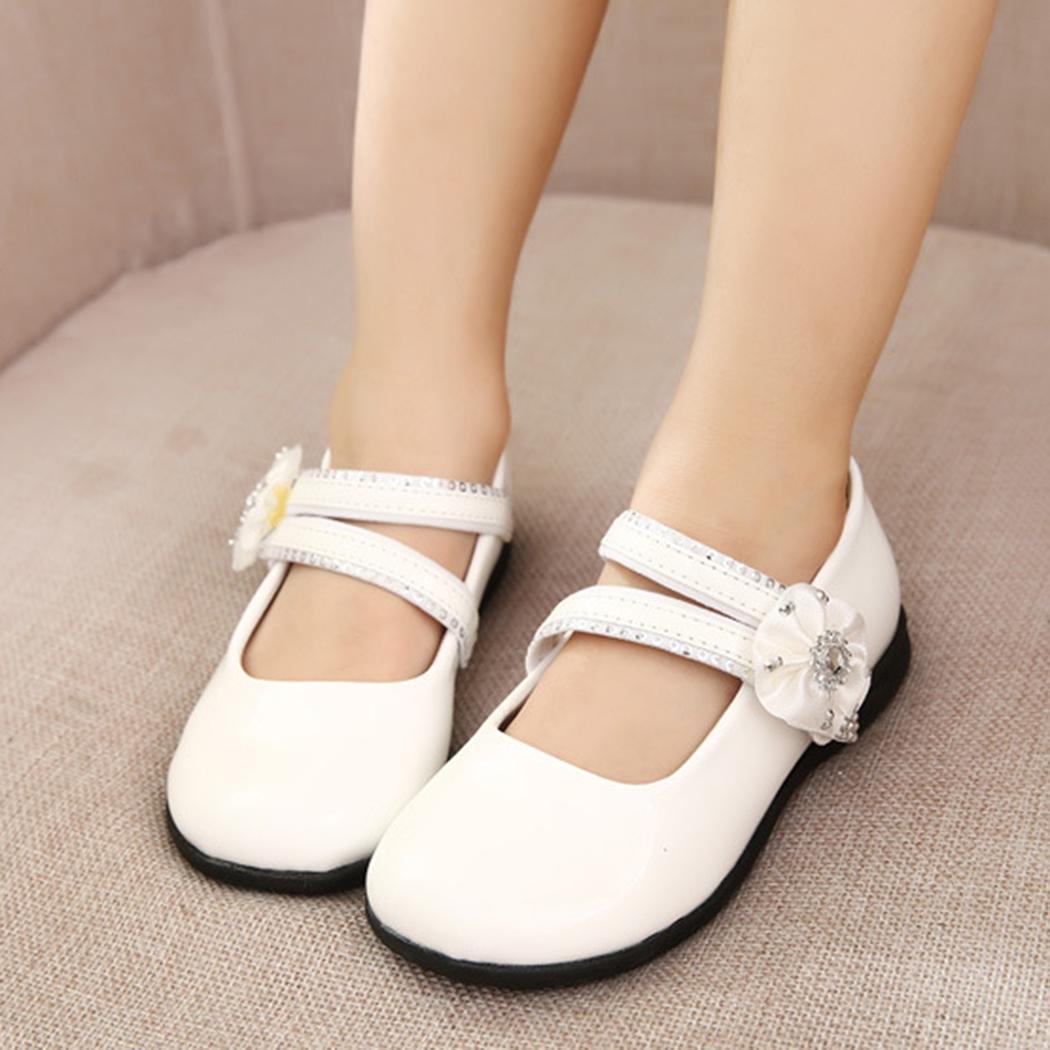 Bílé dětské svatební boty, 26-32 - Obrázek č. 1