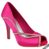 AKCE - růžové společenské, svatební lodičky, 36-41, 38