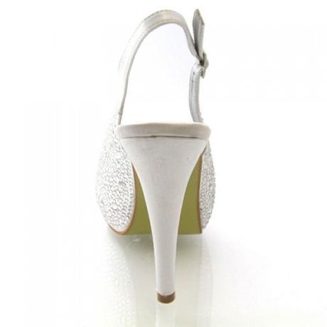 BELLE, champagne svatební lodičky, 36-41 - Obrázek č. 2