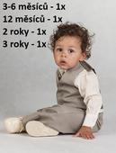 K zapůjčení - béžový oblek, 0-4 roky, různé veliko, 98