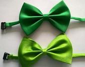 Zelený dětský motýlek - skladem,