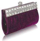 NOVINKA - růžová malá kabelka, psaníčko,