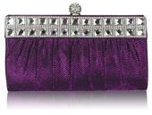 NOVINKA - fialová malá kabelka, psaníčko,