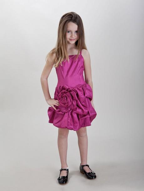 Růžové šaty k prodeji, 6-14 let - Obrázek č. 2