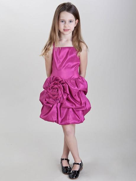 Růžové šaty k prodeji, 6-14 let - Obrázek č. 3