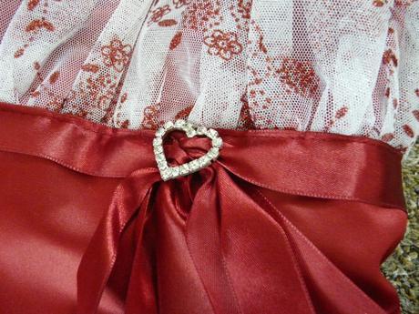 Vínové šaty pro družičku, 8-12 let - Obrázek č. 4