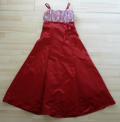 Vínové šaty pro družičku, 8-12 let - Obrázek č. 2