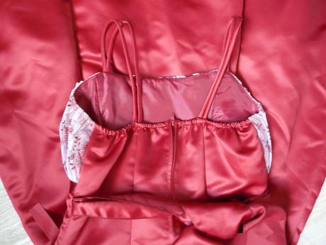Vínové šaty pro družičku, 8-12 let - Obrázek č. 3