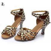 Leopardí taneční střevíčky, 34-40, 36