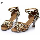 Leopardí taneční střevíčky, 34-40, 37