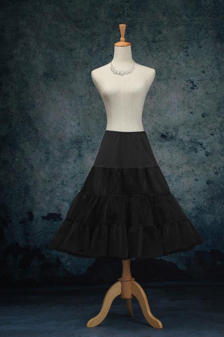 Krátká retro spodnice - různé barvy - Obrázek č. 2