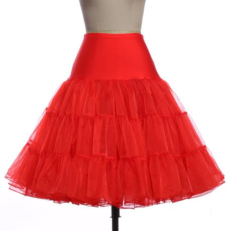 Krátká retro spodnice - různé barvy - Obrázek č. 4