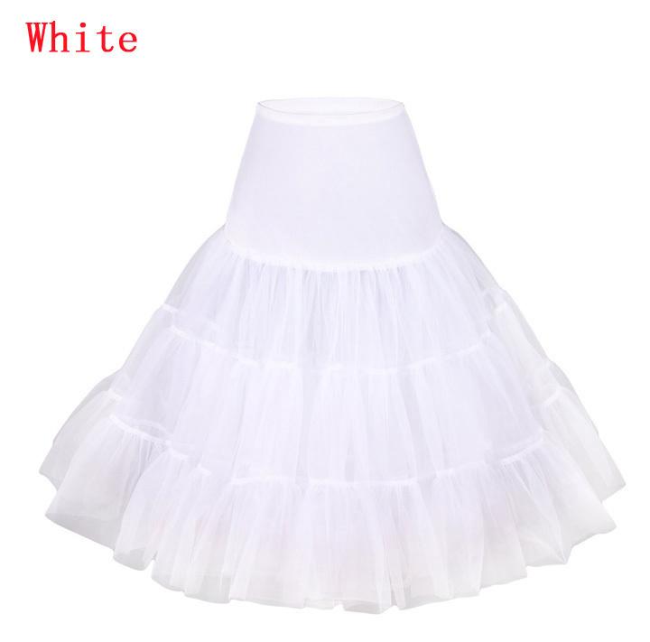Krátká retro spodnice - různé barvy - Obrázek č. 1