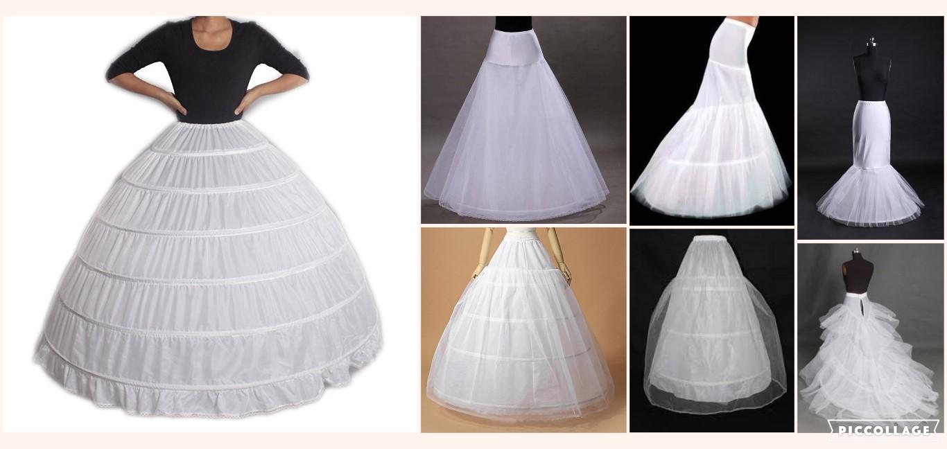 Svatební, společenské spodnice, různé druhy - Obrázek č. 1