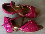 Růžové taneční střevíčky - skladem, 34