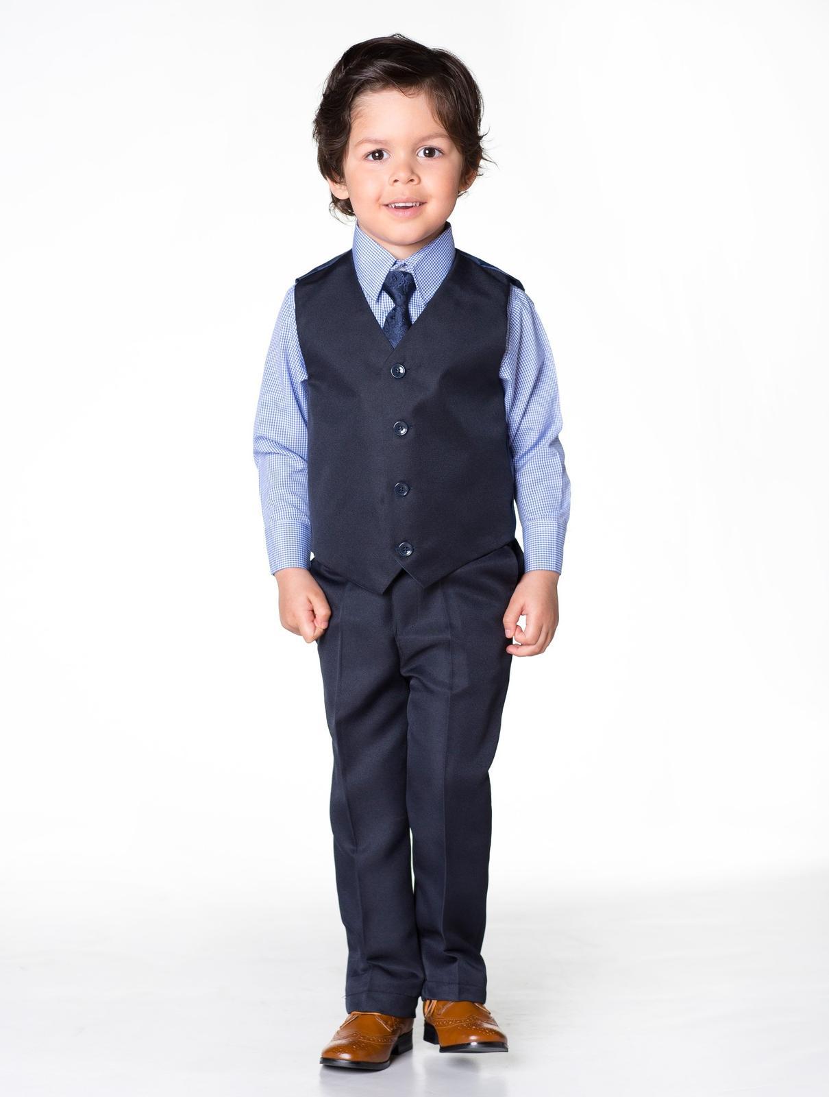 AKCE - tmavě modrý oblek, k prodeji, k půjčení - Obrázek č. 3