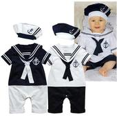 Tmavě modrý námořnický obleček, 92
