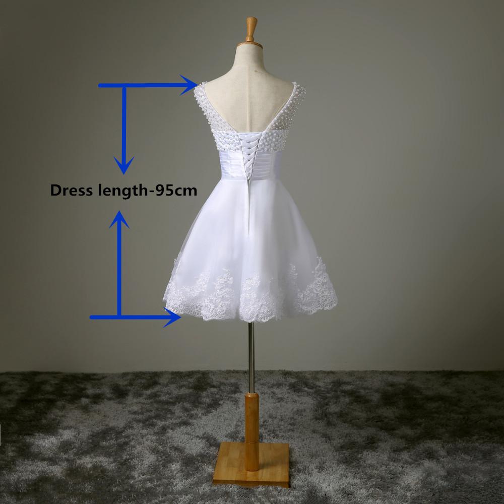 Krátké svatební šaty, popůlnočky - Obrázek č. 3
