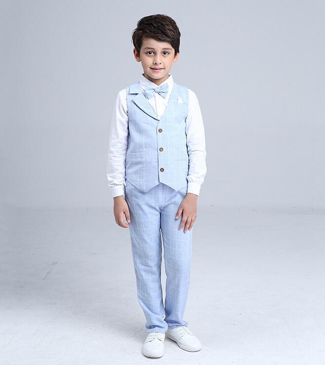 Béžový oblek, 3-10 let, k půjčení, k prodeji - Obrázek č. 2