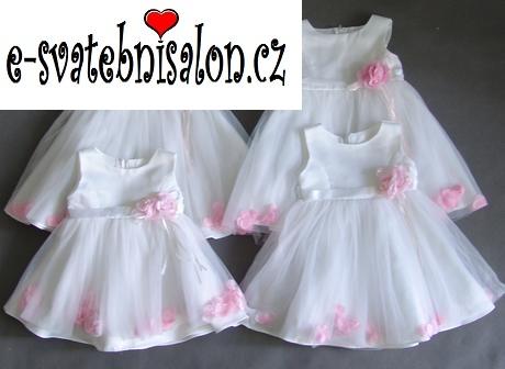 SKLADEM - šaty k zapůjčení, 3-24 měsíců - Obrázek č. 1