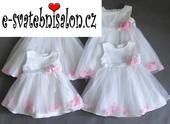 SKLADEM - šaty k zapůjčení, 3-24 měsíců, 80