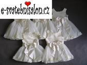 SKLADEM - šaty k zapůjčení, 1-4 roky, 80