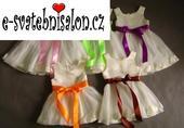 SKLADEM - šaty k zapůjčení, 1-4 roky, 98