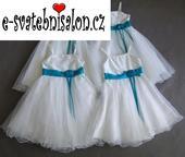 SKLADEM - šaty k zapůjčení, 5-10 let, 122