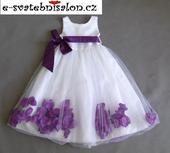 SKLADEM - šaty k zapůjčení, 5-7 let, 116