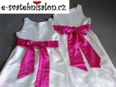 SKLADEM - šaty k zapůjčení, 9-10 let - 2x, 140