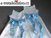 SKLADEM - šaty k zapůjčení, 9-10 let - 2x, 134