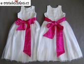 SKLADEM - šaty k zapůjčení, 8-10 let - 2x, 134