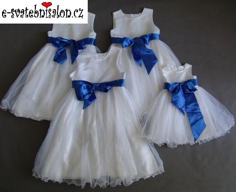 SKLADEM - šaty k zapůjčení, 12-18m, 10-13 let - Obrázek č. 3