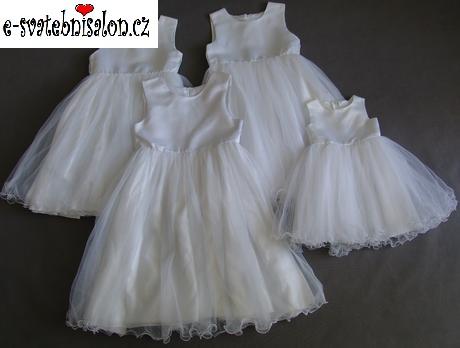 SKLADEM - šaty k zapůjčení, 12-18m, 10-13 let - Obrázek č. 2