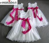 SKLADEM - šaty k zapůjčení, 12-18m, 10-13 let, 152