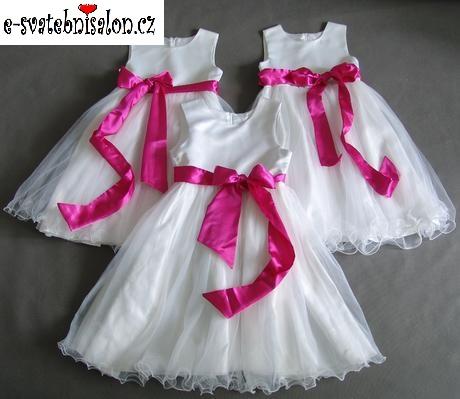 SKLADEM - šaty k zapůjčení, 12-18m, 10-13 let - Obrázek č. 1