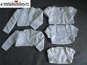 SKLADEM - dětské bolerko, různé velikosti, 116