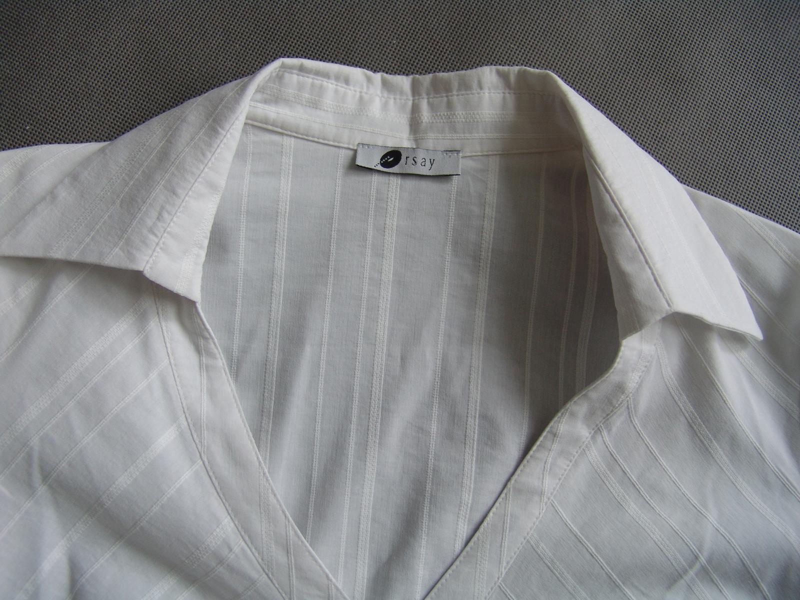 Bílá košile Orsay - Obrázek č. 2