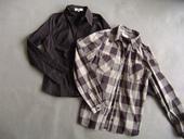 Dvě košile s dlouhým rukávem, S