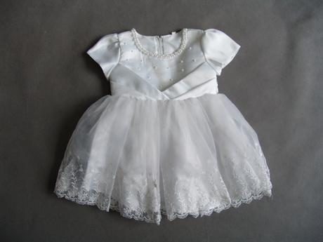 SKLADEM - bílé šaty na vítání občánků, focení, sva - Obrázek č. 4