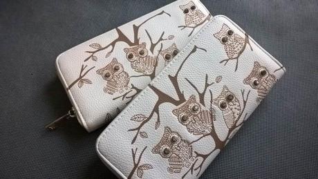 Sovy - peněženka - vánoční dárek - Obrázek č. 1